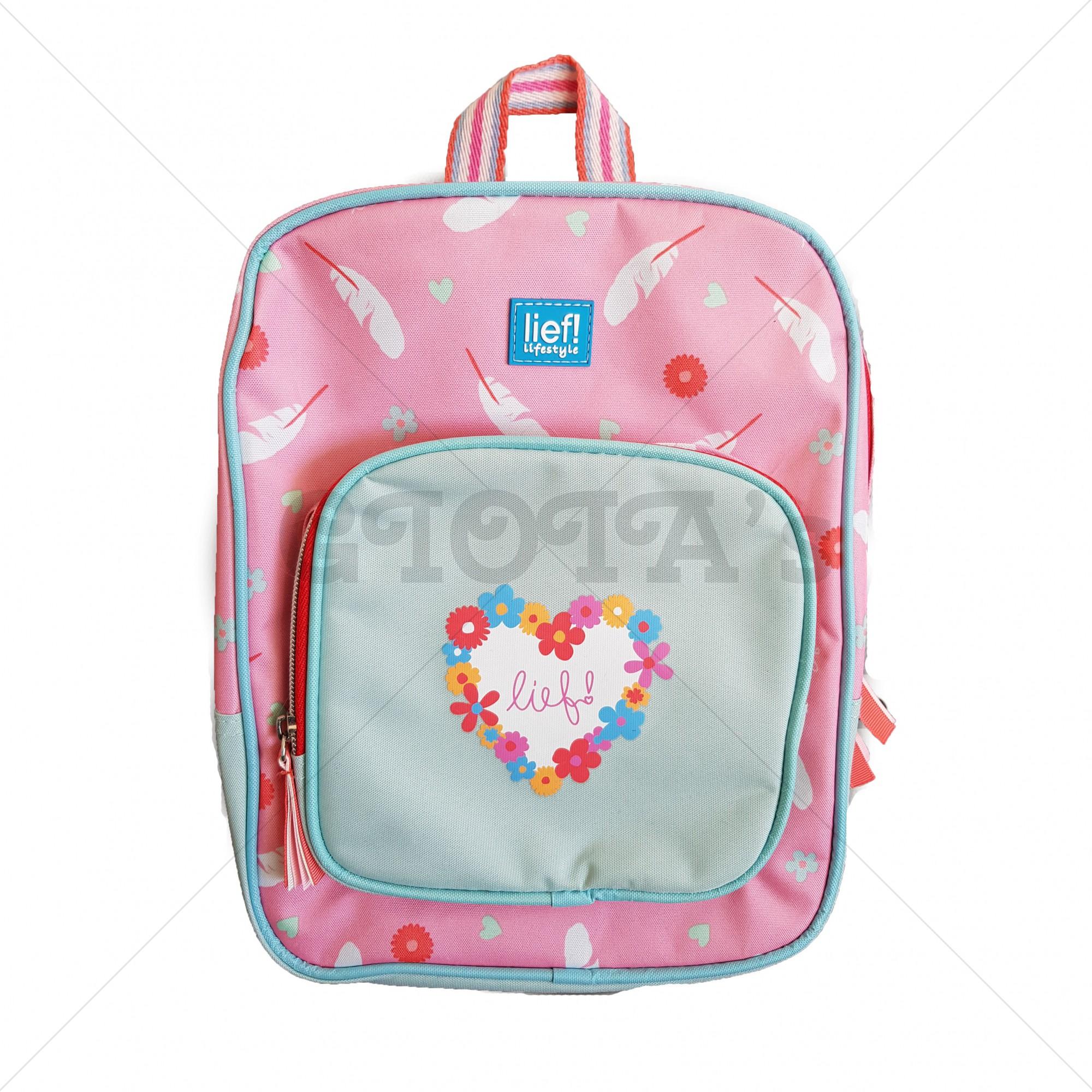 df544138d94 Lief! lifestyle rugtas roze-mint. - GIOIA's cadeau en feestartikelen