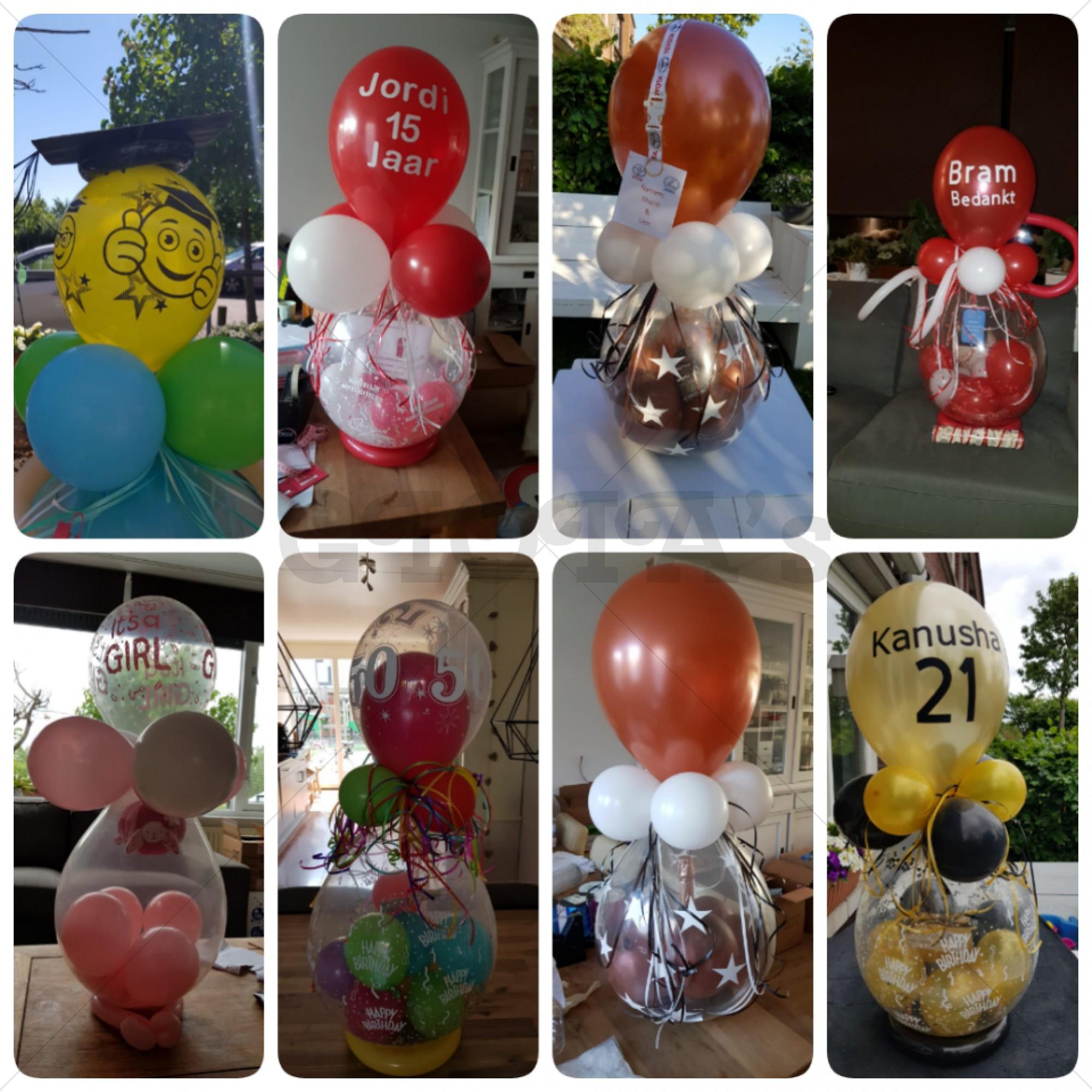 Ballon cadeau - gepersonaliseerd
