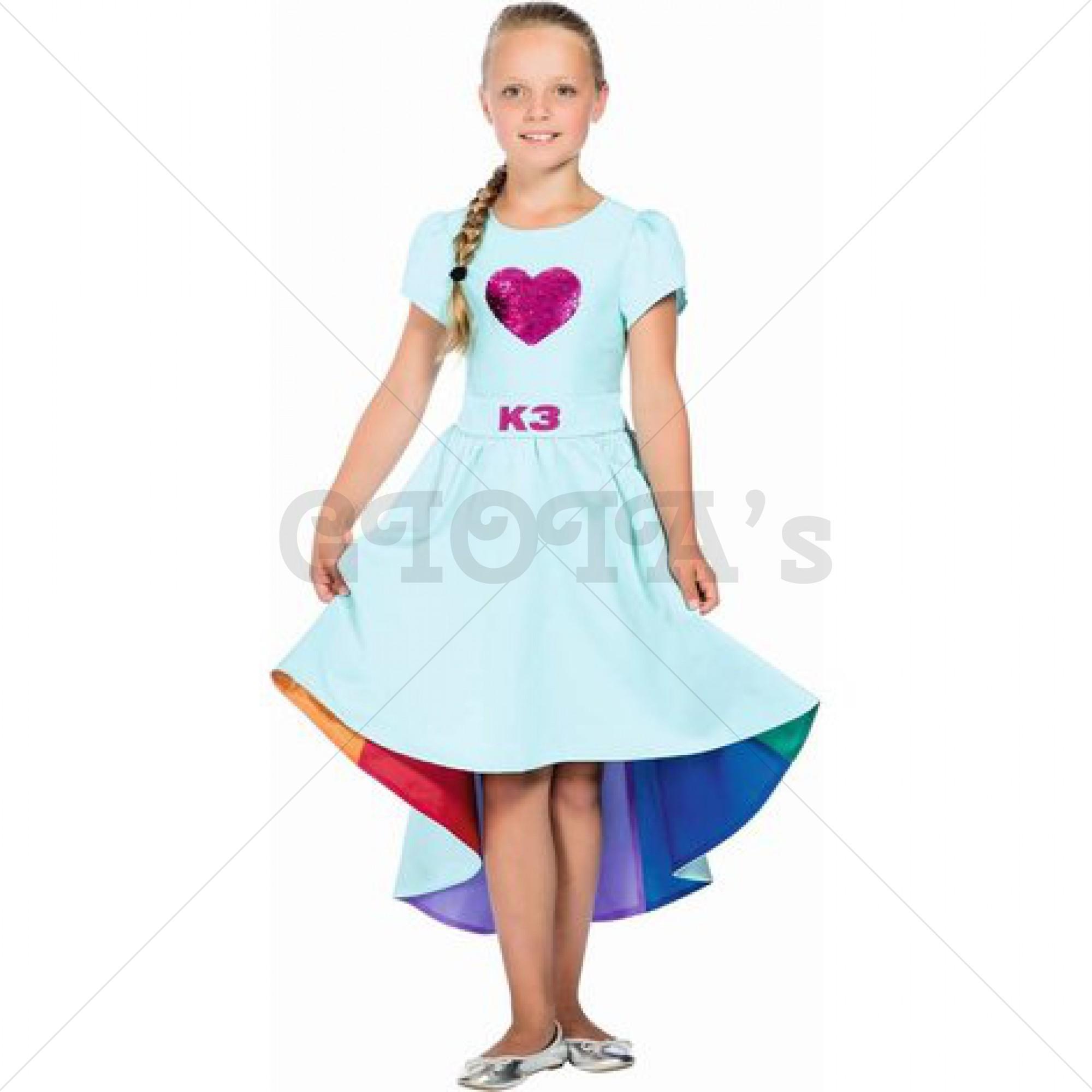 K3-verkleedjurk Verkleedjurk Nieuw Love Cruise maat 116 leeftijd 3-5jaar