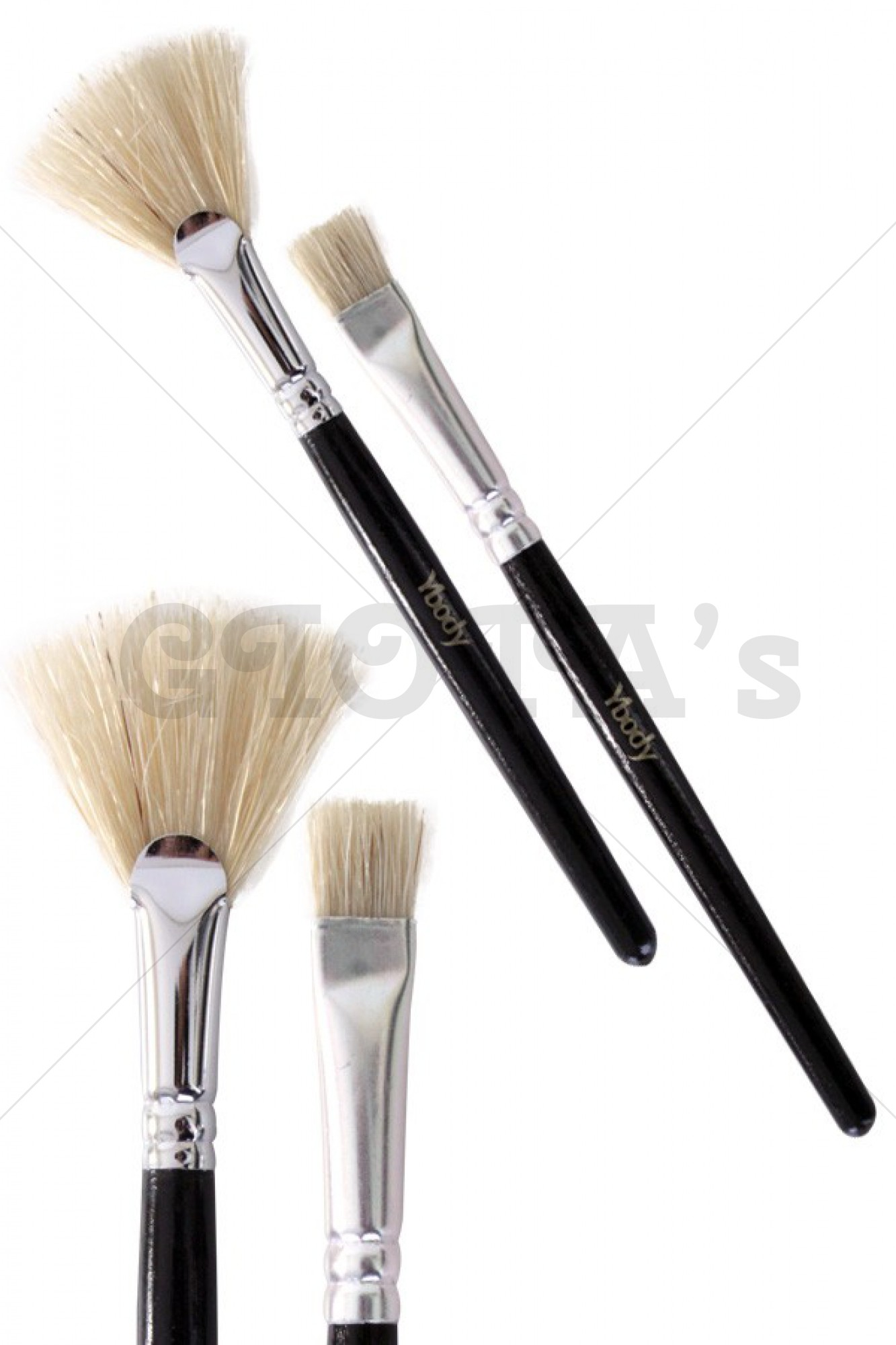 Glitter Tattoo 2 Brush set Ybody