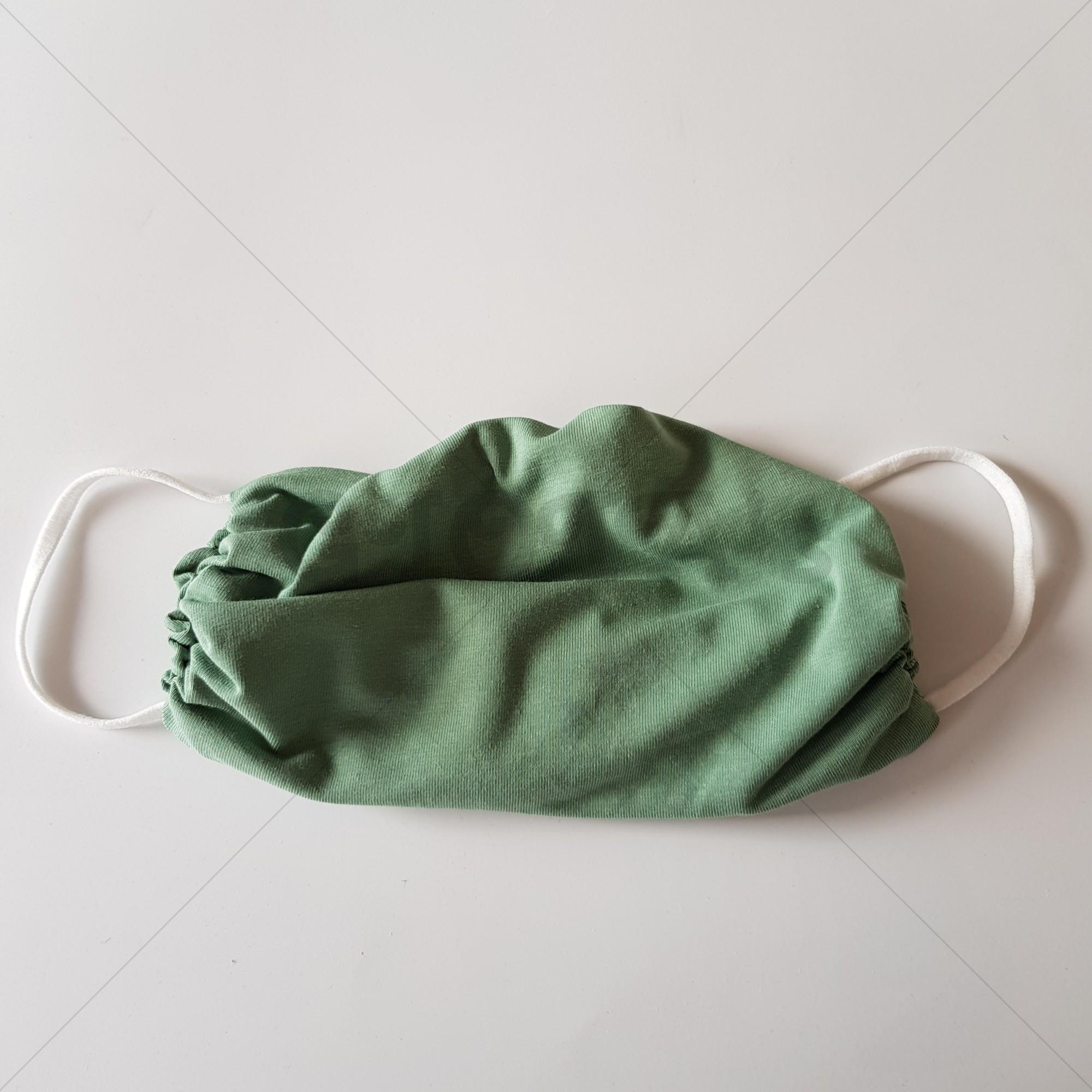 Handgemaakt mondkapje volwassen - Mint
