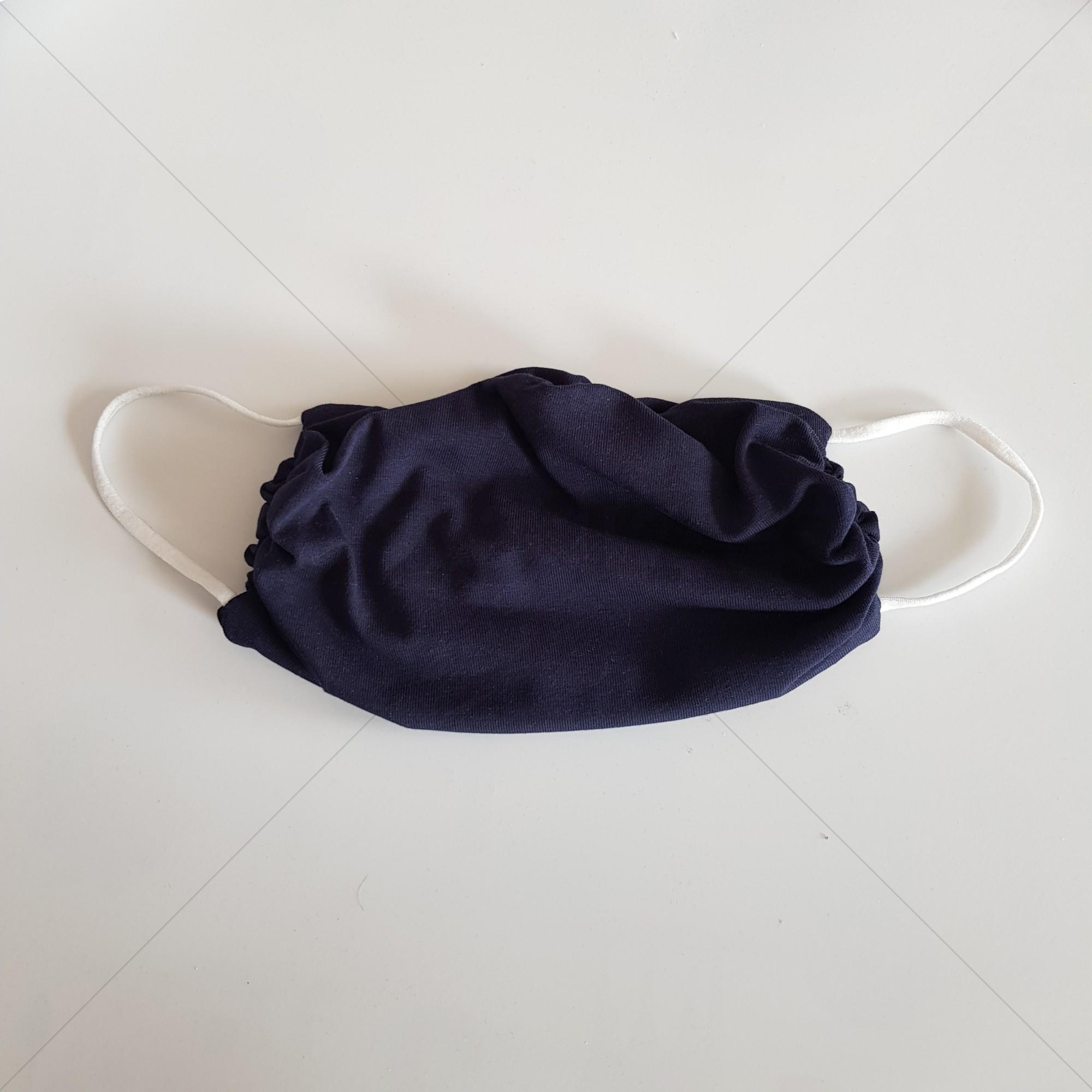 Mondkapje volwassen - Marine blauw