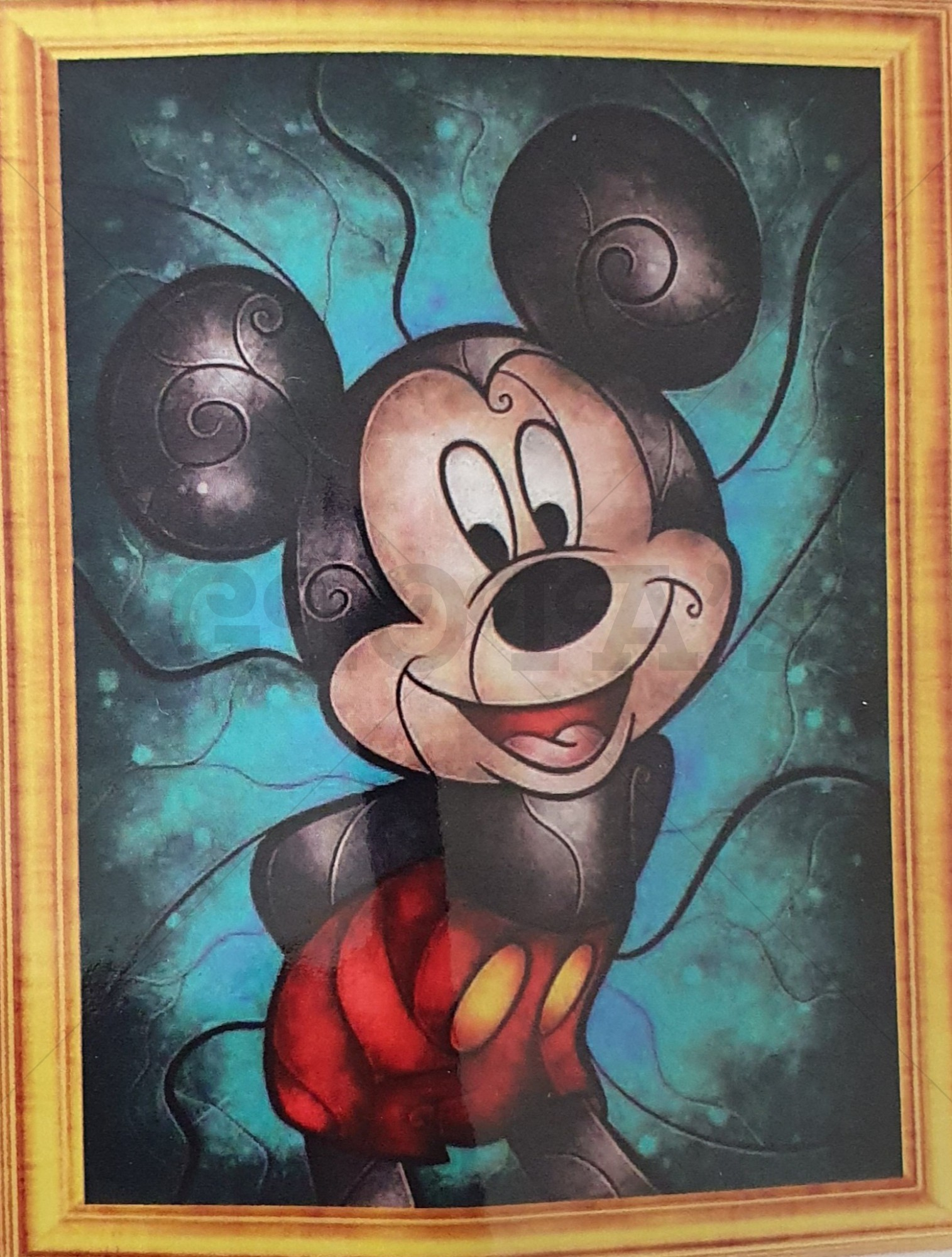 Diamond Painting Mickey 30 x 40 cm