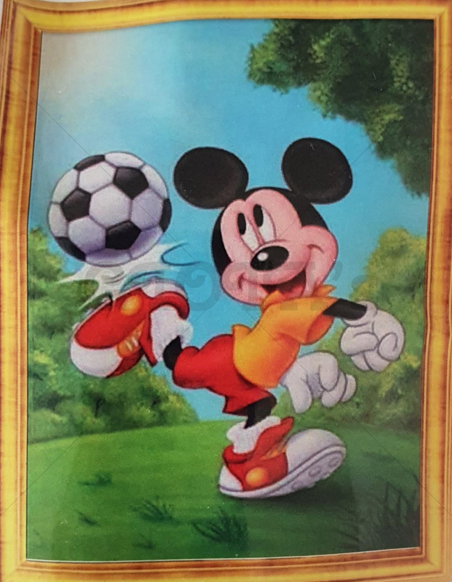 Diamond Painting Mickey voetballen 30 x 40 cm