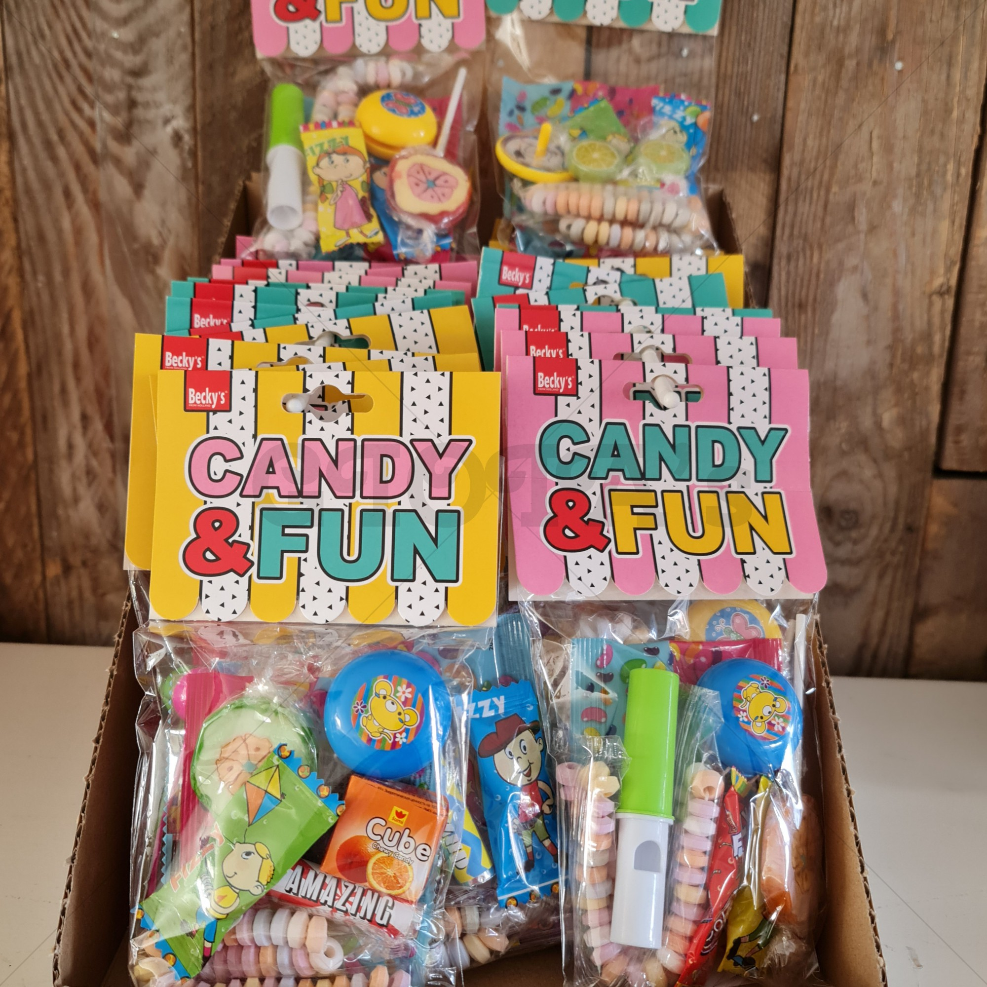 Candy en Fun zakje