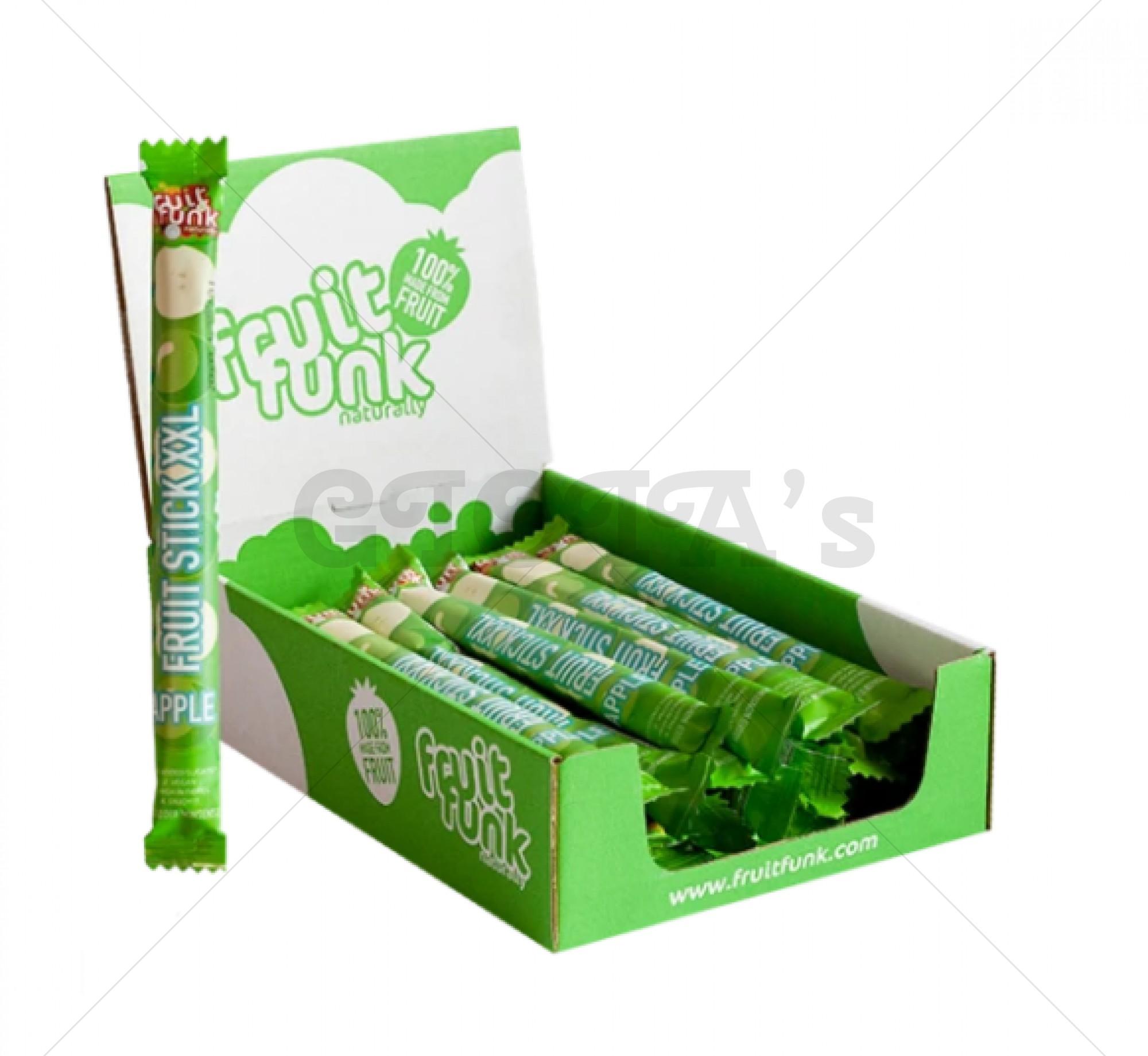 Fruitstick xxl - appel  prijs is per stuk