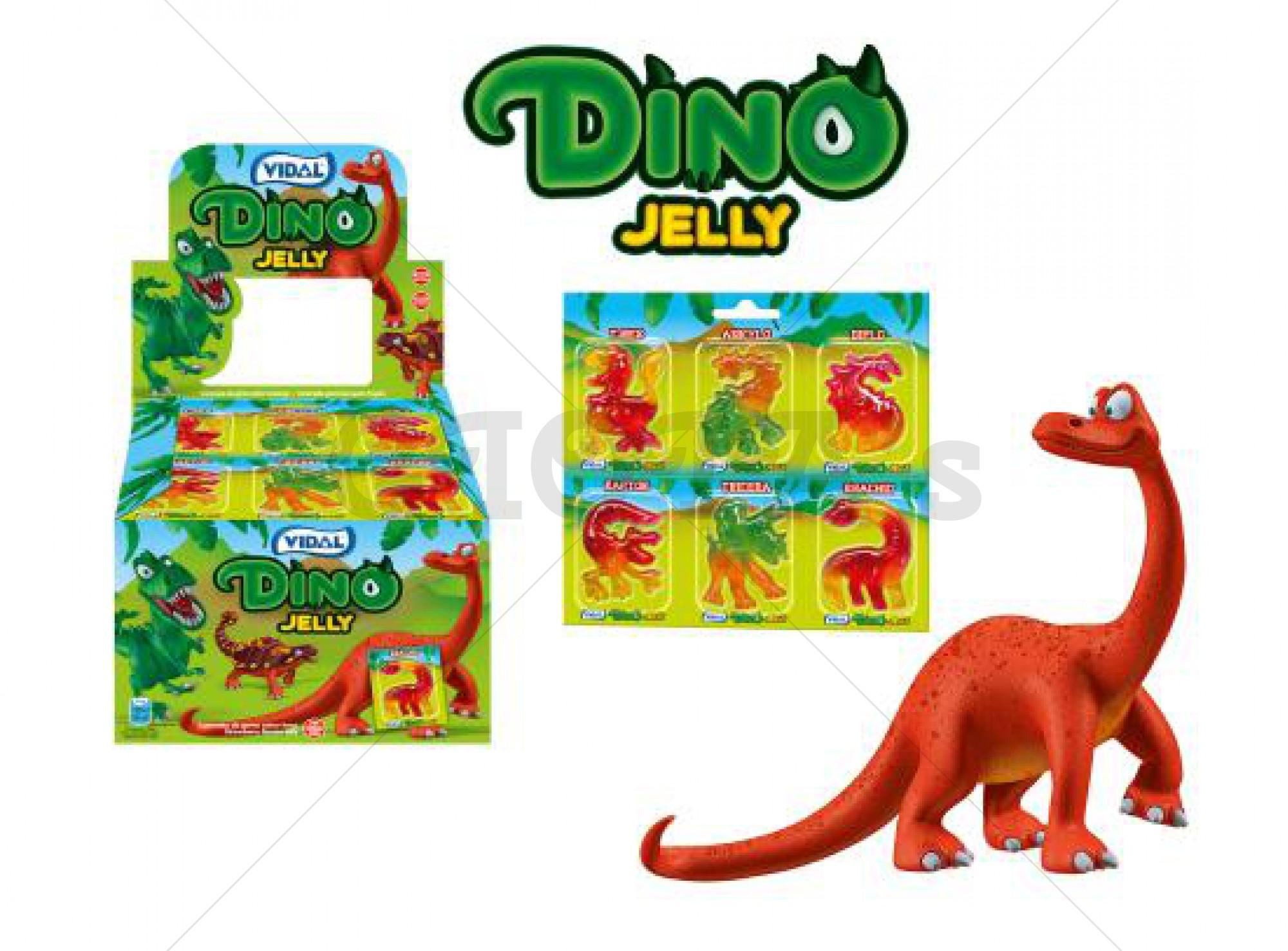 Dino jelly snoep in blister prijs per stuk
