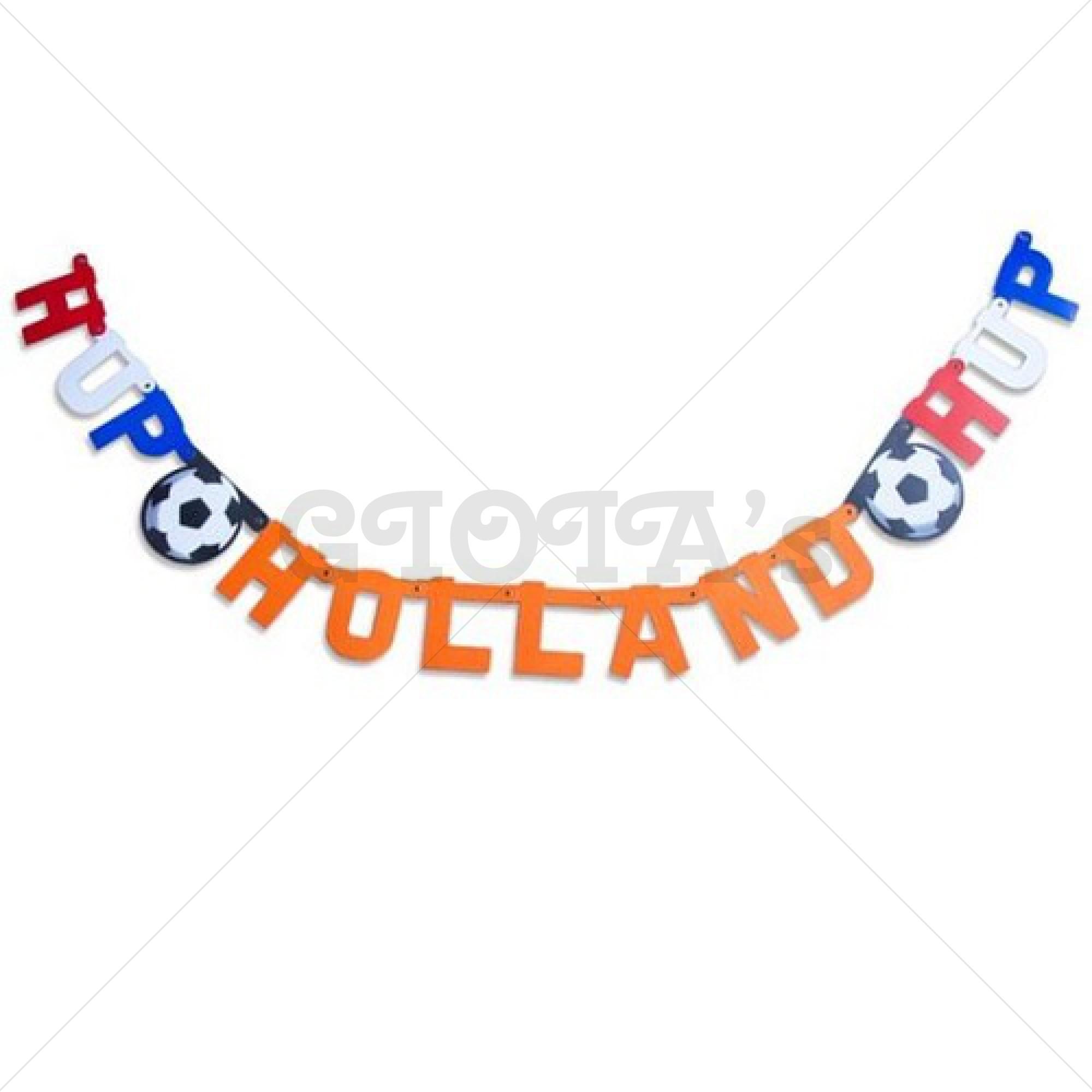 Letterslinger Hup Holland Hup