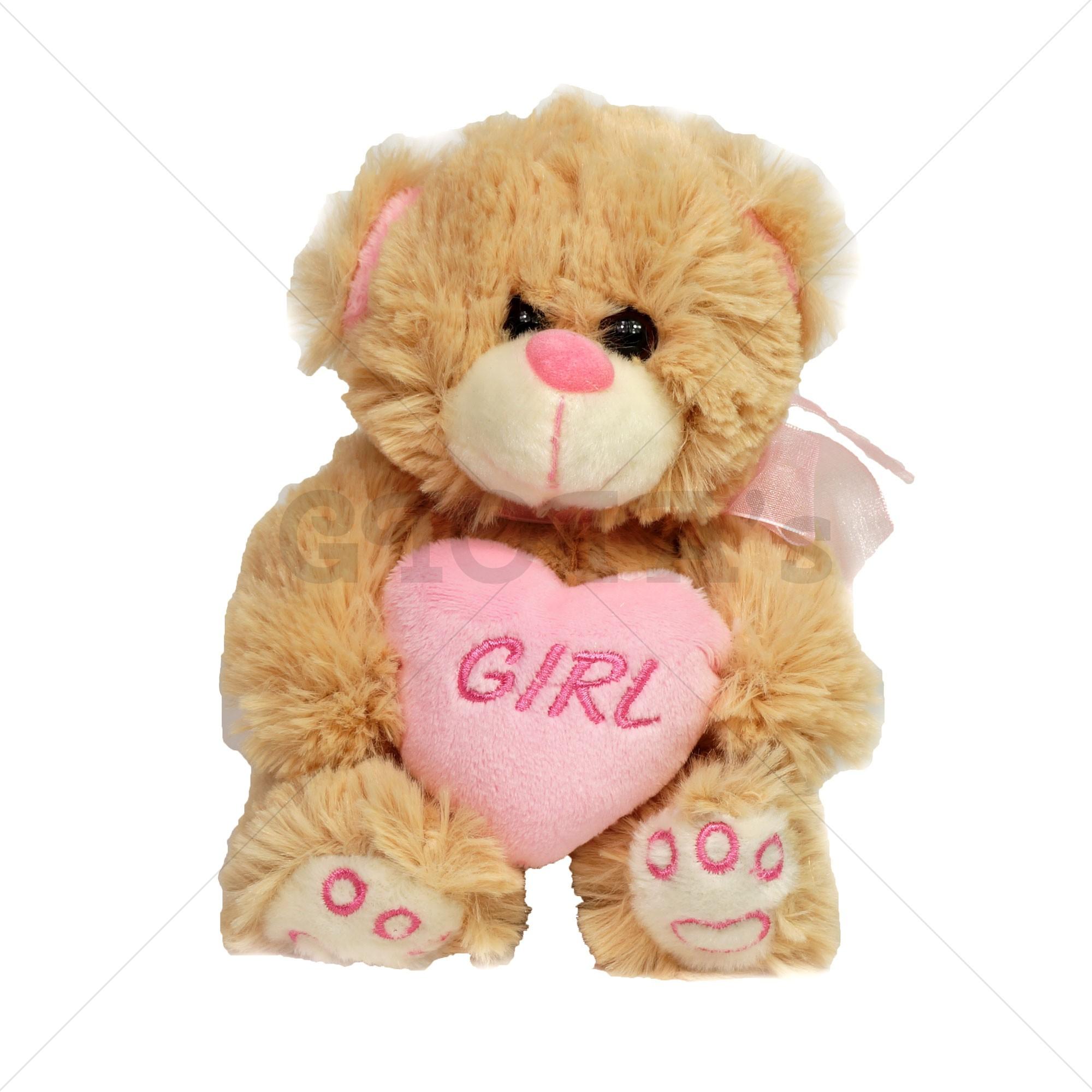7bd4c59c3f0f79 Knuffelbeer girl 18cm - GIOIA's cadeau en feestartikelen
