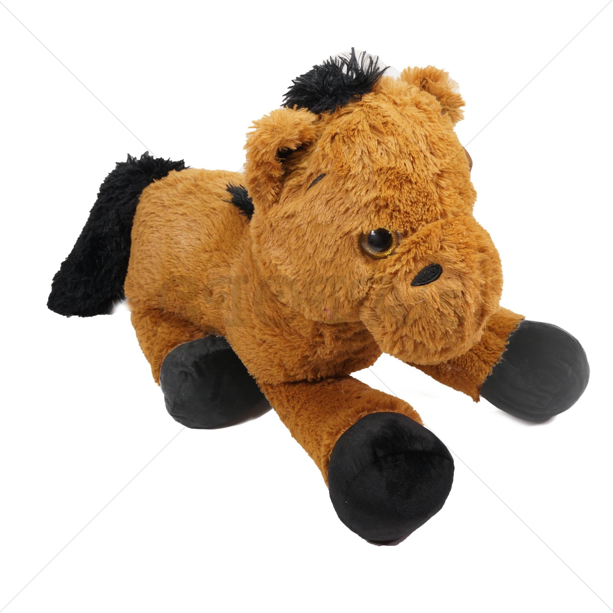 c3ec6f008942e7 Paard pluche knuffel 80 cm - GIOIA's cadeau en feestartikelen