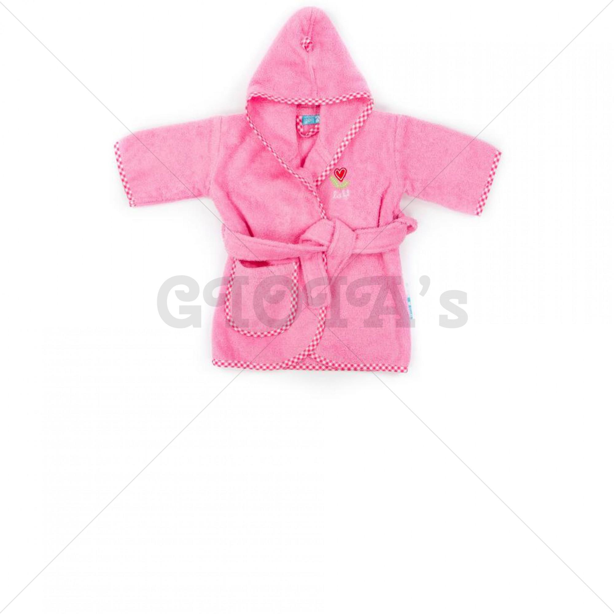 9f4bb48cc85 Lief! lifestyle badjas lichtroze 1 - 2 jaar - GIOIA's cadeau en ...