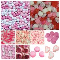 Roze snoepgoed
